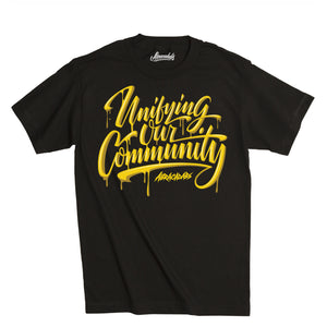 "Abracadabs ""Unifying Our Community"" Black Tee - ABRACADABS"