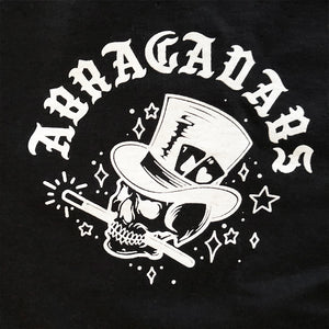 Abracadabs Skull Top Hat Black Long Sleeve - ABRACADABS