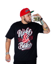 Load image into Gallery viewer, Abracadabs Wake & Bake Black Tee - ABRACADABS