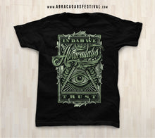 "Load image into Gallery viewer, Abracadabs ""In Dabs We Trust"" Black Tee - ABRACADABS"