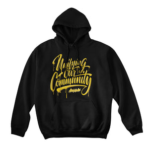 "Abracadabs ""Unifying Our Community Black Hoodie - ABRACADABS"