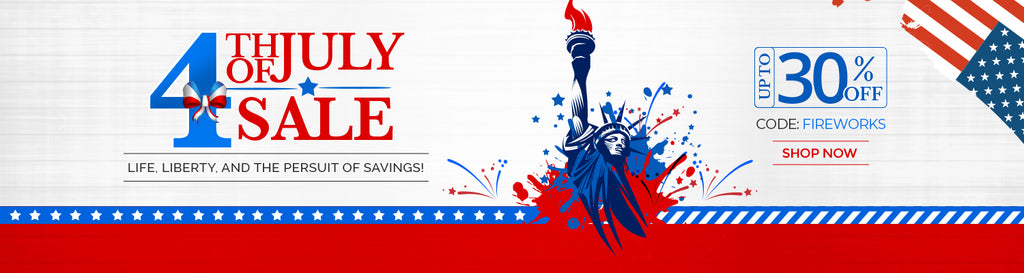 B.Tiff New York July 4th Independence Day Sale
