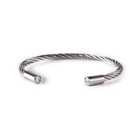 B.Tiff Classic Cable Bangle Bracelet