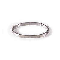 B.Tiff Simplicity Narrow Matte Bangle Bracelet