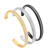 B.Tiff Eternity 30 Adjustable Bangle Cuff