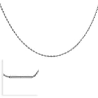 B.Tiff Thick Diamond Cut Chain