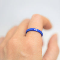 B.Tiff Narrow Polygon Stacking Ring