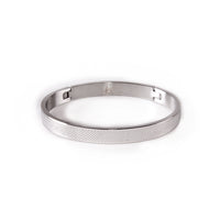 B.Tiff Simplicity Cross Hatch Bangle Bracelet