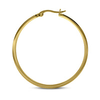 B.Tiff Pave 58-Stone Classic Large Hoop Earrings