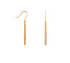 B.Tiff Pave 14-Stone Dangling Bar Earrings