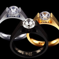B.Tiff .75 ct Round Solitaire Engagement Ring
