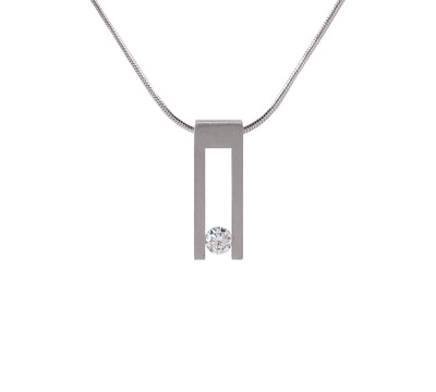 B.Tiff Hollow Bar Pendant