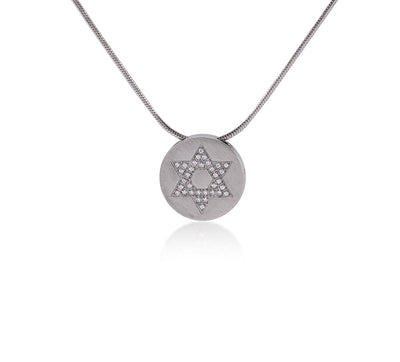 B.Tiff Star of David Pendant