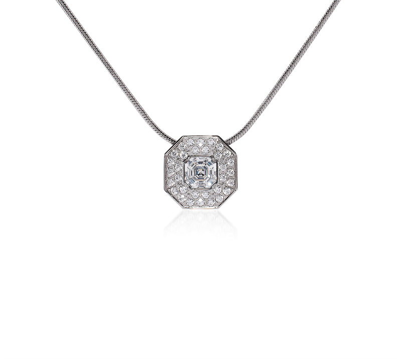 B.Tiff Hexagon Pendant