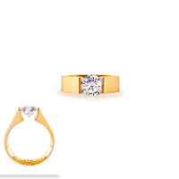B.Tiff 2 ct Round Solitaire Engagement Ring