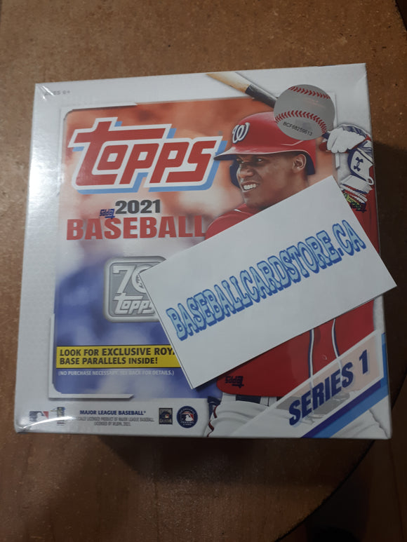Free 2021 Topps Baseball Mega Box Break