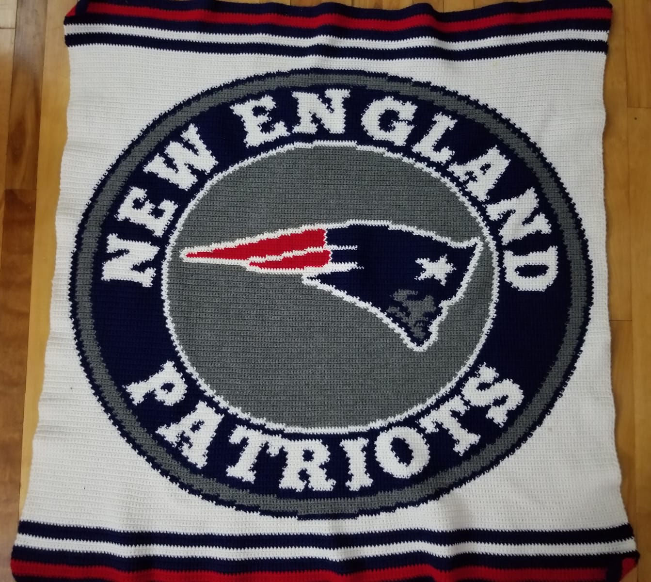 New England Patriots Blanket