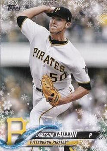 2018 TOPPS WALMART HOLIDAY SNOWFLAKE HMW134 JAMESON TAILLON PIRATES