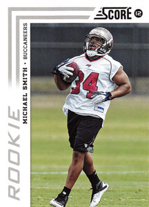 2012 SCORE 397 MICHAEL SMITH BUCCANEERS RC