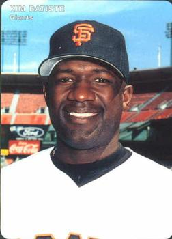 1996 Mother's Cookies San Francisco Giants 26 KIM BATISTE