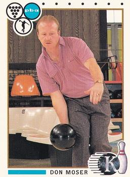 1990 COLLECT-A-CARD KINGPINS 50 DON MOSER