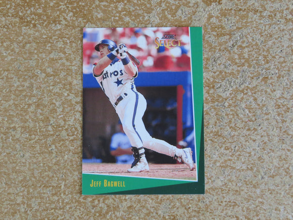 1993 SELECT 113 JEFF BAGWELL ASTROS