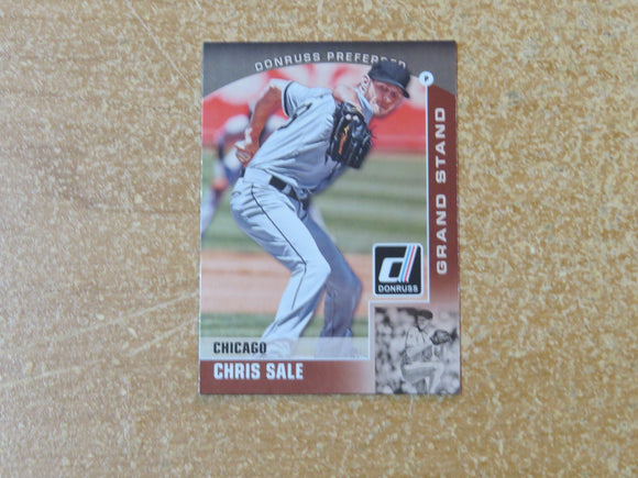 2015 DONRUSS PREFERRED BRONZE 24 CHRIS SALE WHITE SOX