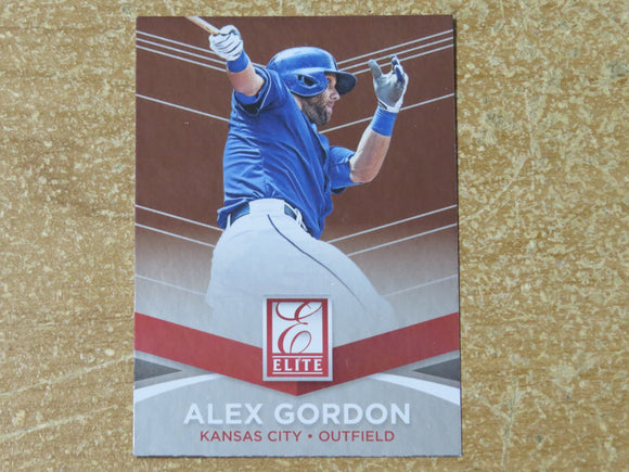 2015 DONRUSS ELITE INSERTS 12 ALEX GORDON ROYALS