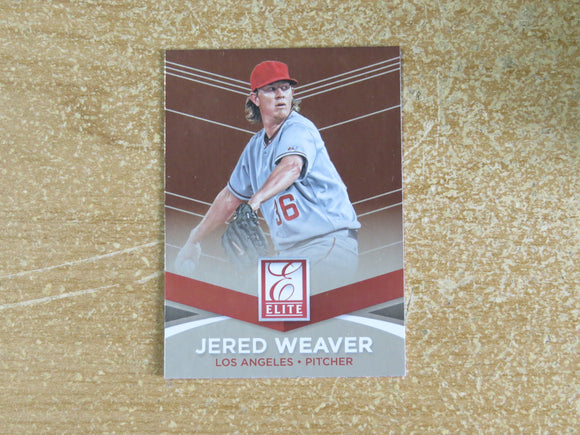 2015 DONRUSS ELITE INSERTS 13 JERED WEAVER ANGELS