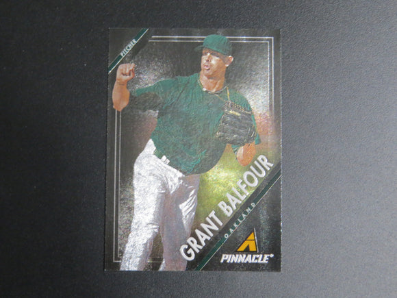 2013 PINNACLE MUSEUM COLLECTION 111 GRANT BALFOUR A'S