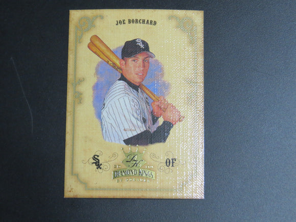 2004 DIAMOND KINGS 81 JOE BORCHARD WHITE SOX