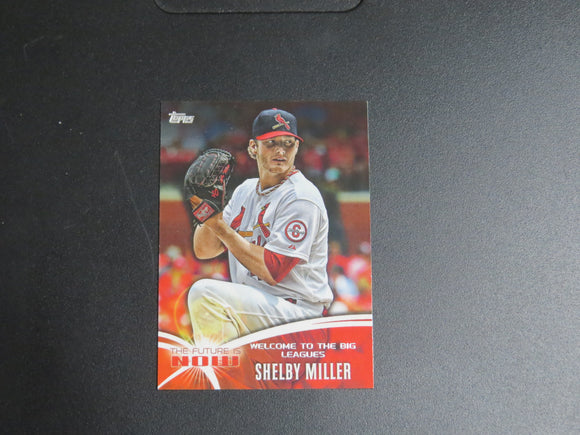2014 TOPPS MINI THE FUTURE IS NOW FNM-1 SHELBY MILLER CARDINALS