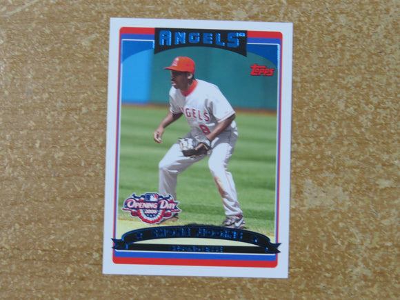 2006 TOPPS OPENING DAY 23 CHONE FIGGINS ANGELS