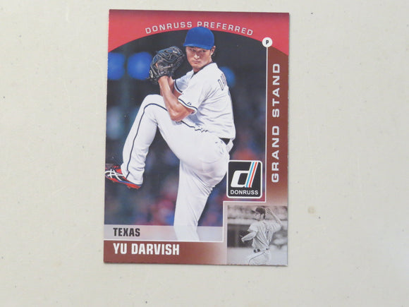2015 DONRUSS PREFERRED BRONZE 22 YU DARVISH RANGERS