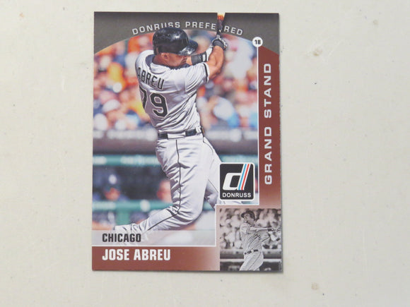 2015 DONRUSS PREFERRED BRONZE 21 JOSE ABREU WHITE SOX
