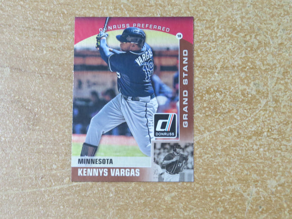2015 DONRUSS PREFERRED BRONZE 7 KENNYS VARGAS TWINS