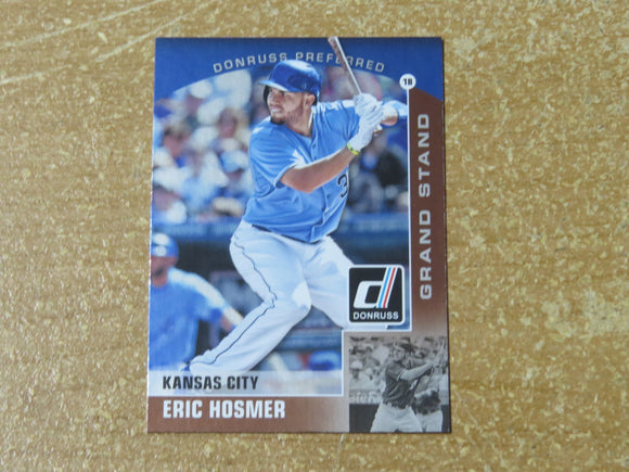 2015 DONRUSS PREFERRED BRONZE 28 ERIC HOSMER ROYALS
