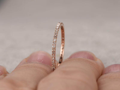 0.50 Carat Ring Wedding Band with Diamonds Band