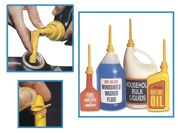 flexible spout funnel