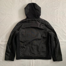 "Load image into Gallery viewer, 2000s Samsonite ""Travel Wear"" Textured Nylon & Wool Thinsulate Hooded Jacket by Neil Barrett - Size M"