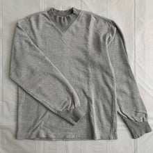 Load image into Gallery viewer, 1990s Katharine Hamnett Heather Grey Articulate Neck and Cuff Ribbing - Size M