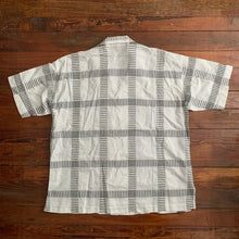 Load image into Gallery viewer, 1980s Issey Miyake Checkered Linen Shirt - Size OS
