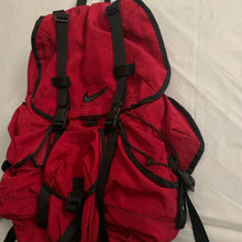 Load image into Gallery viewer, 1990s Vintage Nike Red Nylon Parachute Backpack - Size OS