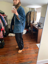 Load image into Gallery viewer, 1980s CDGH Extended Heavy Denim Chore Jacket - Size L