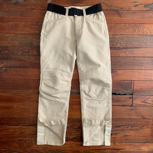 1998 General Research Beige Biker Pants - Size S