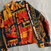 Load image into Gallery viewer, 2000s CDG x 10 Corso Como x Levis Painted 507 Trucker Jacket - Size M