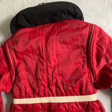 Load image into Gallery viewer, 1990s Armani Red Modular Bondage Jacket - Size L