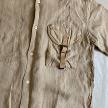 Load image into Gallery viewer, ss2007 CDGH Linen Cargo Pocket Shirt - Size M