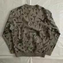 Load image into Gallery viewer, ss1986 Issey Miyake Embossed Dinosaur Graphic Sweater - Size M