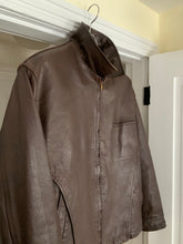 Load image into Gallery viewer, 1980s CDGH Brown Paneled Leather Work Jacket - Size OS
